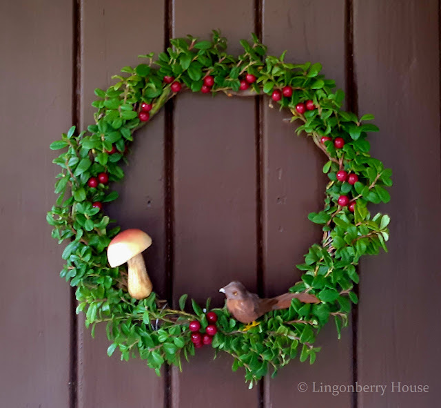 lingonberryhouse, DIY, tee itse, kranssi, wreath, autumn, syksy,  koriste