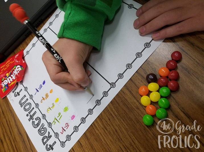 adding and subtracting fractions using number lines and picture models ...