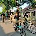Pacu Kekebalan Tubuh , Personel Denkesyah IM 04.01 LSW Olahraga Bersepeda Kelilingi Kota