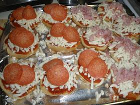Danielle S Cookbook Mini Pizza Bagels