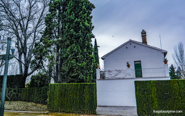Parque García Lorca, em Granada, Espanha