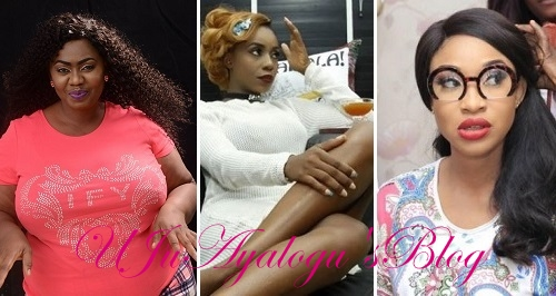 """""""Tonto Dikeh Is My Friend"""" – Actress, Ifeoma Okeke Says, Slams Adaslim For Mentioning Her Name While Calling Out Tonto Dikeh."""