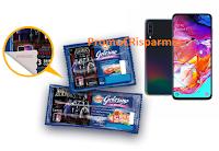 Logo Golosino Negroni & Famiglia Addams: vinci 66 Samsung Galaxy A70