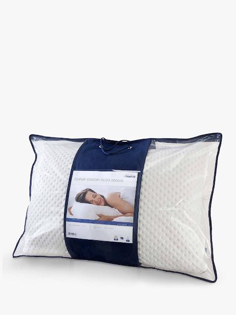 tempur comfort support standard pillow