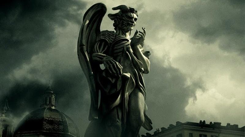 Anjos e demônios ação controlada