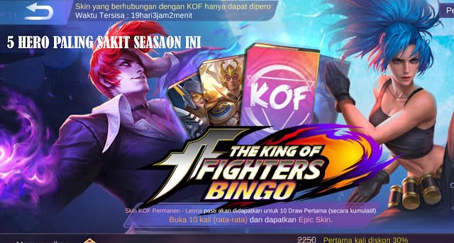 5 Hero Mobile legend Paling Sakit Season 12