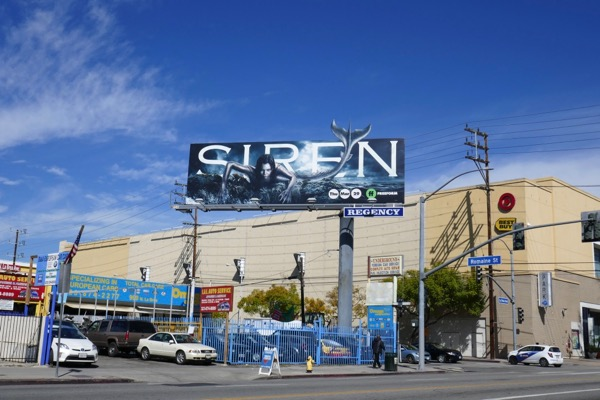 Siren Freeform series billboard