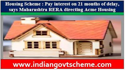 Maharashtra RERA directing Acme Housing