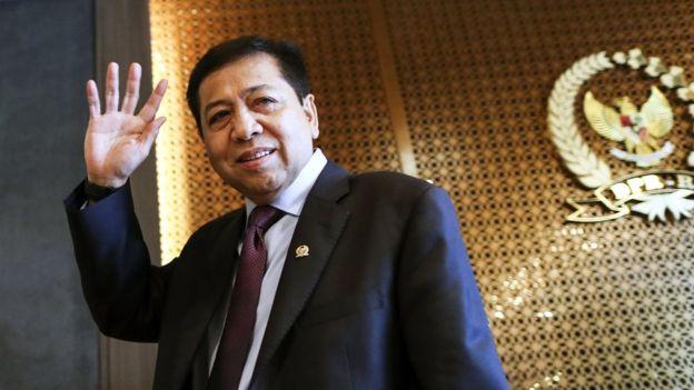 Meski Sudah Ditahan KPK, Setnov Ogah Dicopot dari Ketua DPR