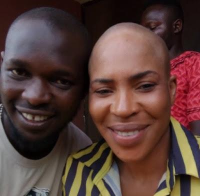 fathia balogun shaves head