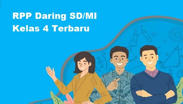 RPP Daring SD/MI Kelas 4 Terbaru