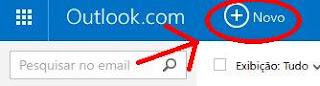 Como envio um email pelo MSN