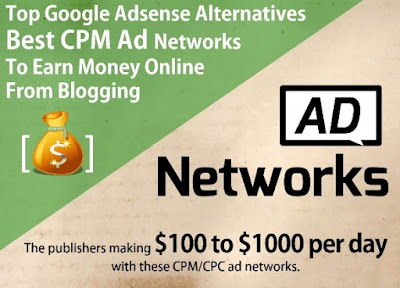 Google AdSense Alternative, Best Adsense alternatives