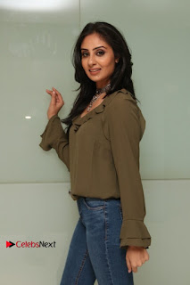 Actress Bhanu Sri Mehra Latest Pos in Jeans at Simba Audio Launch  0014.jpg