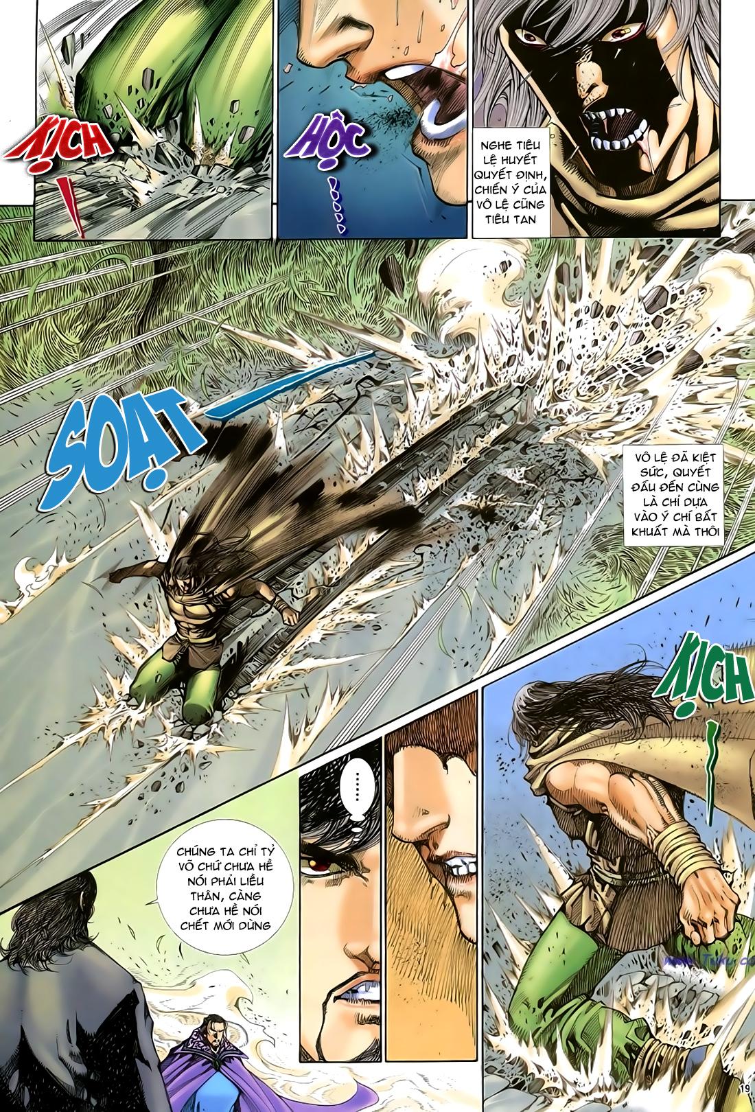 Anh hùng vô lệ Chap 29 trang 20
