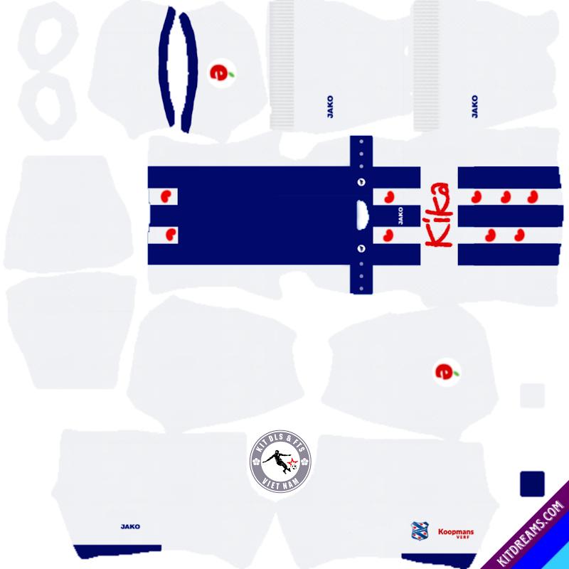 Kits CLB Heereveen 2019 - 2020 Dream League Soccer 2021
