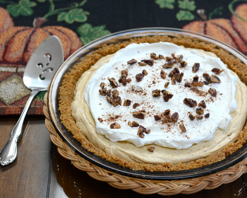 No-Bake Pumpkin Cream Pie ♥ A Veggie Venture