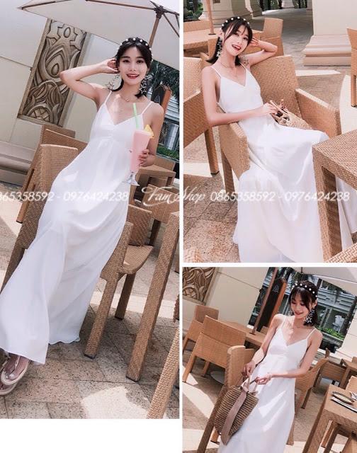Shop ban vay maxi di bien tai Nguyen Trung Truc