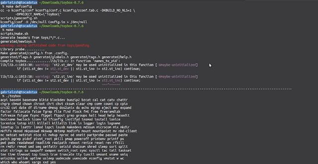 Teste com o make defconfig e também funcionando bem.