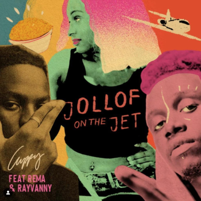 "[VIDEO] ""Jollof On The Jet Video"" – Cuppy ft. Rema x Rayvanny"