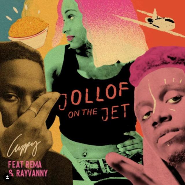 "[VIDEO] ""Jollof On The Jet Video"" – Cuppy ft. Rema x Rayvanny"