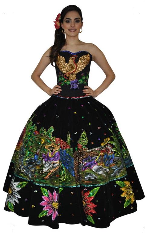 Escaramuzas Diseño De Vestidos De Escaramuza Vestidos De