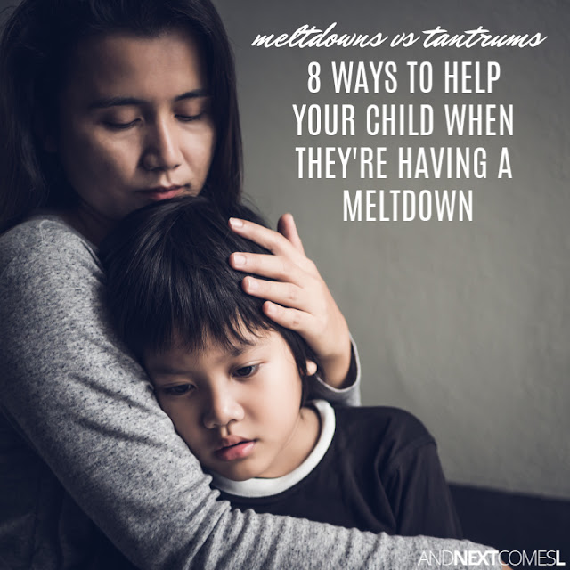 Autism meltdowns tips