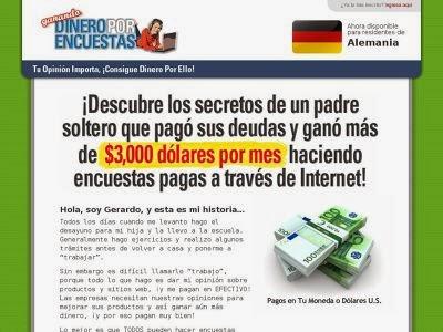 ganar dinero haciendo encuestas