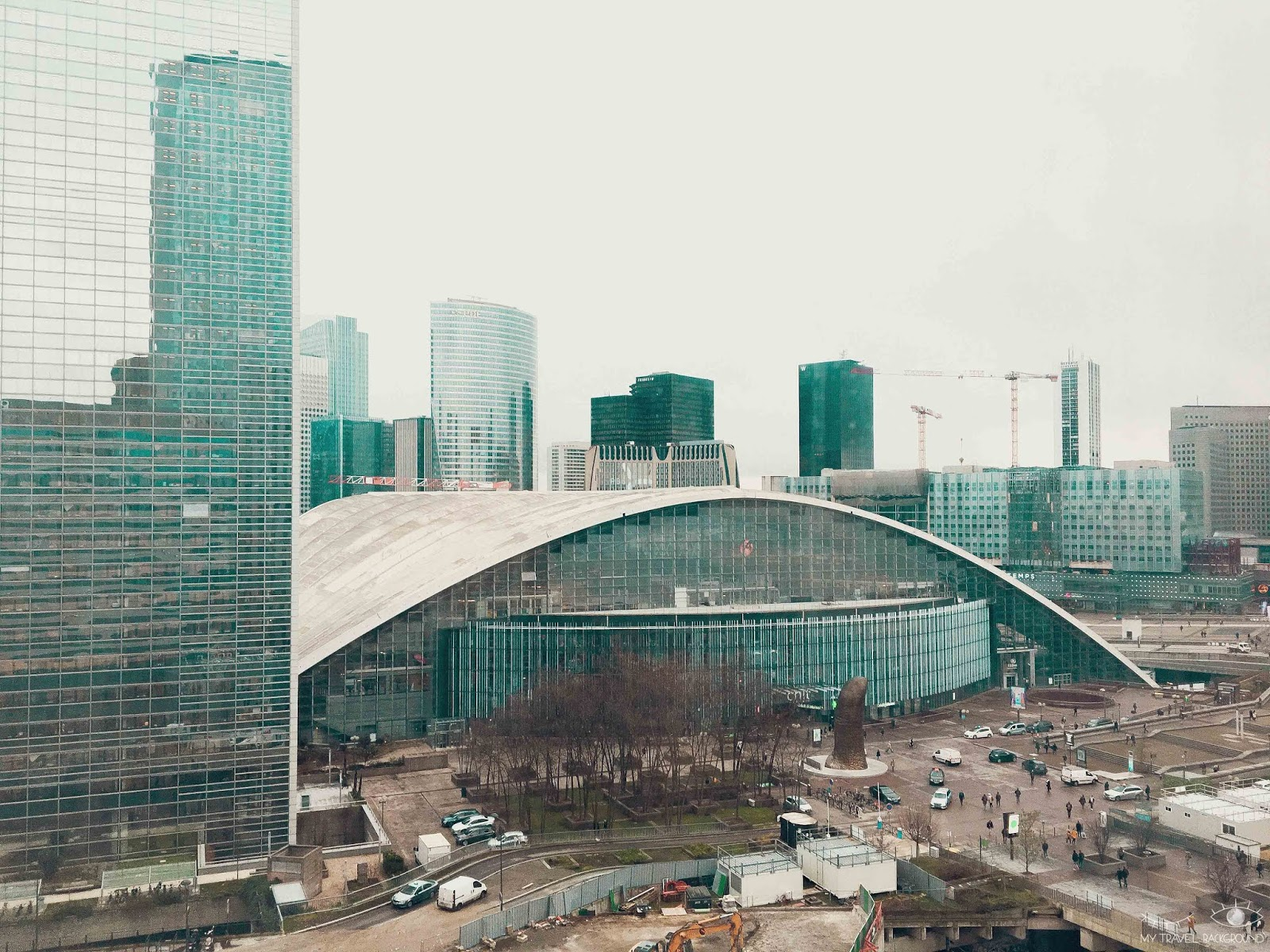 My Travel Background : Paris Promenade La Défense - Le CNIT