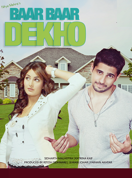 Baar Baar Dekho Movie Download (2016) 720p HDRip 800mb