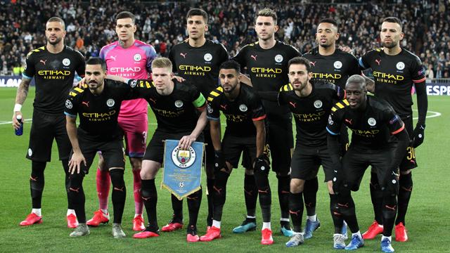Jadwal Manchester City 2020
