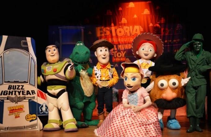 """Últimos dias: """"O incrível mundo de Toy Story"""""""