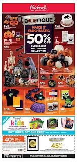 Michaels Weekly Flyer October 12 - 18, 2018