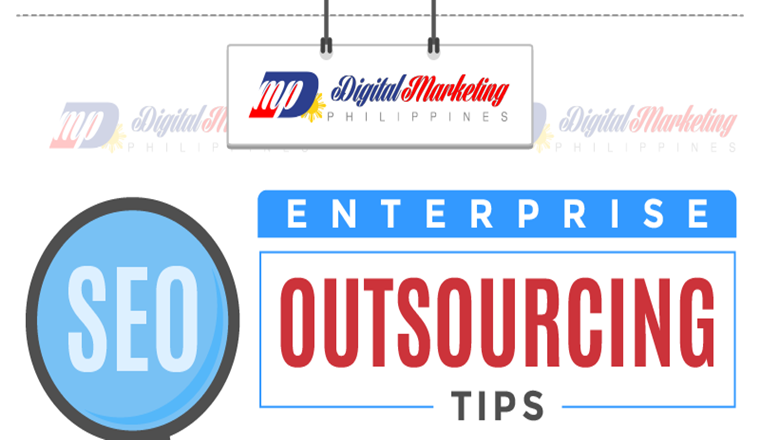 Tips on Enterprise SEO Outsourcing #ingfographic