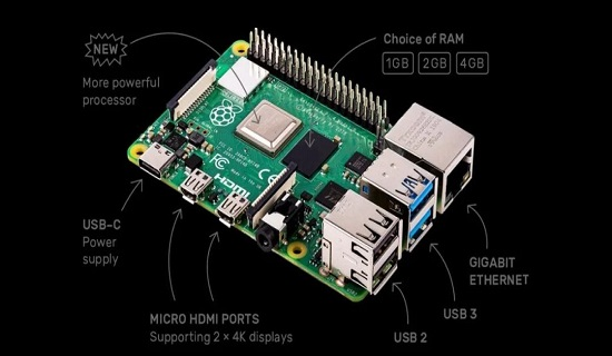 Raspberry pi 4 features