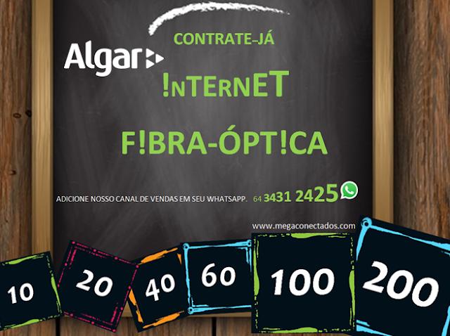 Itumbiara tem internet fibra otica