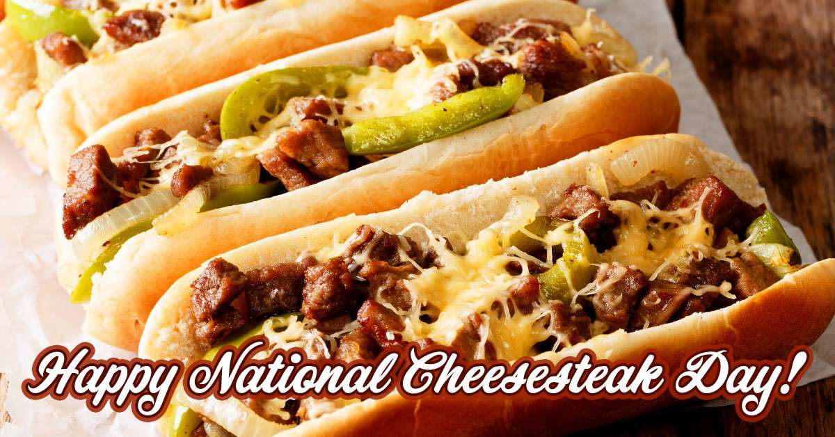 National Cheesesteak Day Wishes Images download