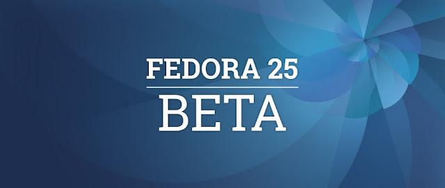 Fedora 25 Beta