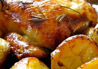 كيفية  عمل تبسي دجاج بالبطاطس