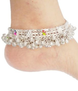 The Classic Indian Pazze-beaded anklets store India Online Shopping
