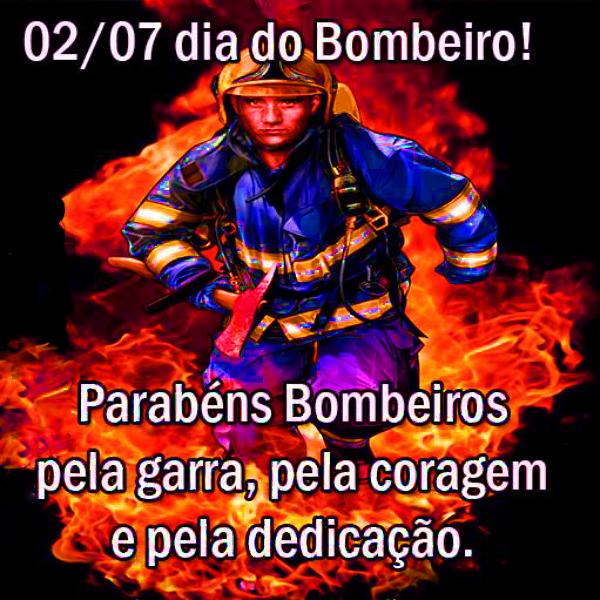 Mensagem de dia do bombeiro
