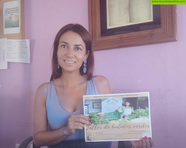 """La Villa de Garafía organiza un taller de """"Jugos Verdes y Hábitos Saludables"""" a cargo de la conocida empresa Naturalmente Margui"""