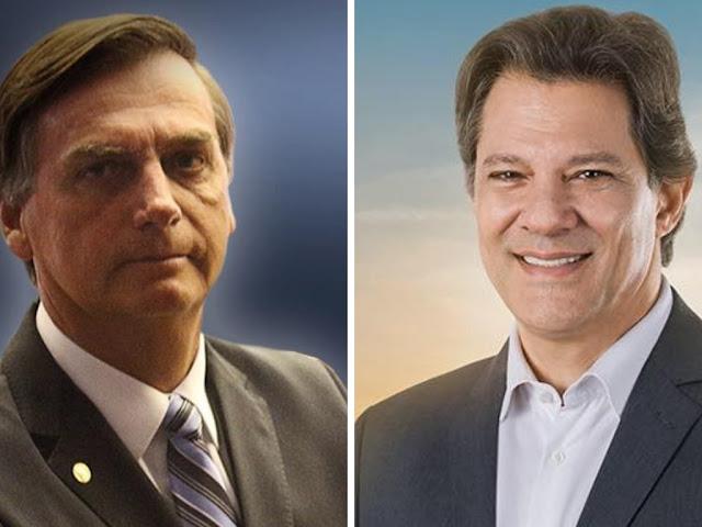 Bolsonaro 'diz não' ao debate da Globo, Haddad não terá espaço