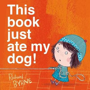 This Book Just Ate My Dog with a review by Tomes and Tequila Blog