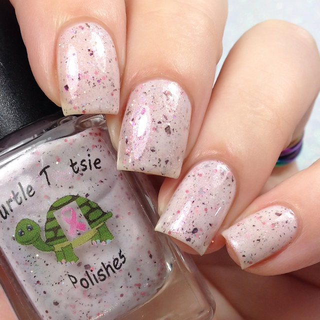 Turtle Tootsie Polishes-Save The Woman Not The Boobies