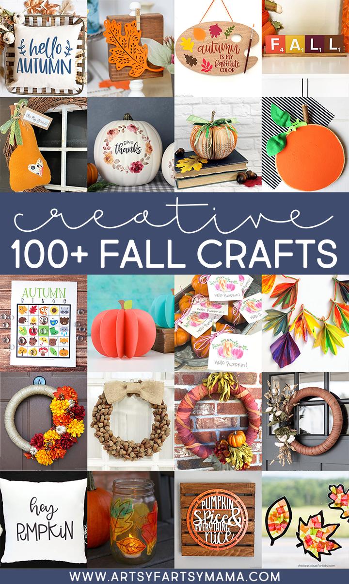 100+ Creative Fall Crafts
