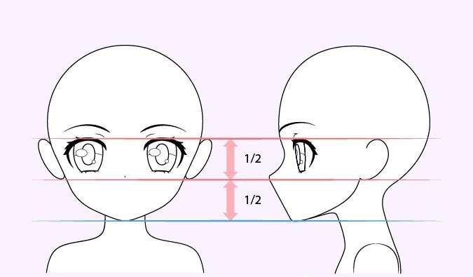 Gambar telinga gadis anime lucu