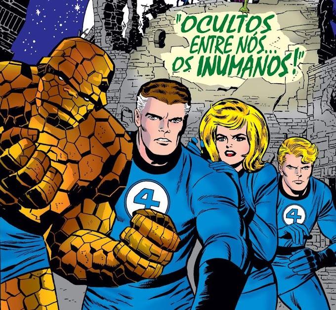 TOP 10 melhores histórias do Quarteto Fantástico (Stan Lee e Jack Kirby)
