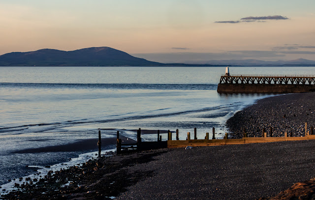 Photo of Maryport Pier at sunset