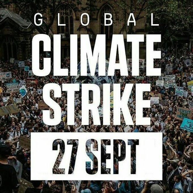 27 SETTEMBRE FEDERCONSUMATORI SOSTIENE  IL TERZO GLOBAL CLIMATE STRIKE
